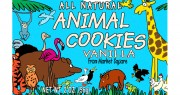 Market Square Jungle Animal Vanilla Cookies 2oz