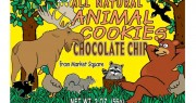 Market Square Woodland Animal Chocolate Chip Cookies 2oz