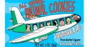 Market Square Airplane Animal Vanilla Cookies 2oz