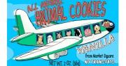 Market Square Airplane Animal Vanilla Cookies 2oz