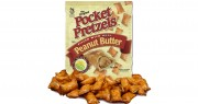 Pocket Pretzels filled with Peanut Butter
