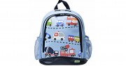 Large PVC Backpack Traffic