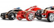 mini rescue vehicles (3 pack)